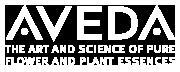 Aveda Logo white